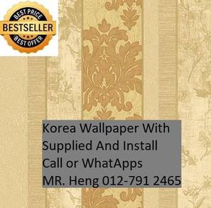 Classic wall paper with Expert Installation 871LY