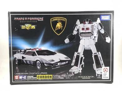 Transformers Masterpiece MP-42 Cordon + Coins
