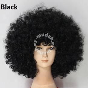 Cospaly Multicolor Explosive Wig - UM001 BLACK