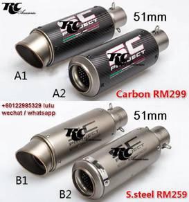 SC muffler / SC exhaust / z800 mt09 z900 gsxr cbr