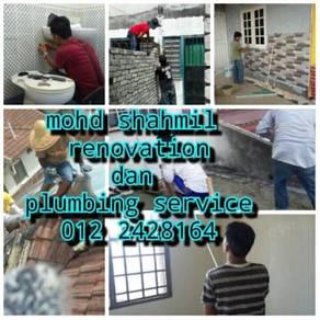 Renovation & plumbing area balakong 010