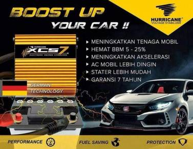 XCS7 VOLTAGE STABILIZER BOOST UP YOUR CAR Hurrican