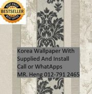 Simple Design With Wall paper with Install 721NV