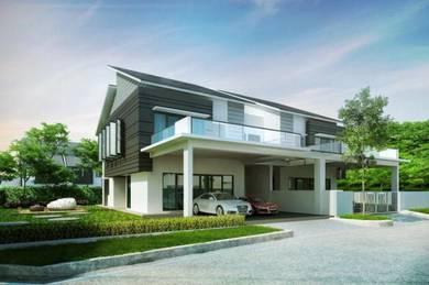 Semenyih Completed New 3 Storey Terrace SEMI D [0% D/p] Below Market