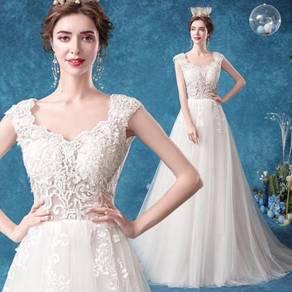 White wedding bridal dress gown RB2113