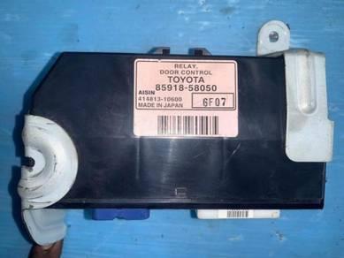 Toyota Alphard Door Control Relay MNH10 ANH10