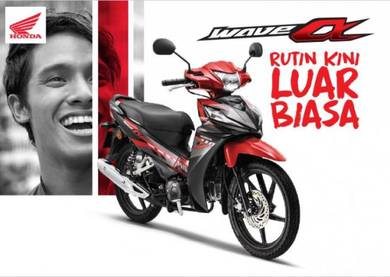 Honda Wave Alpha Baru 2020 EasyApply