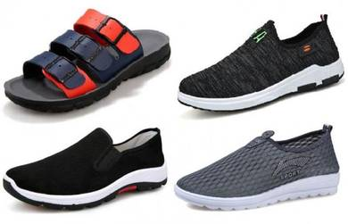 F04 : [4-In-1] CASUAL SNEAKER SPORT KASUT SHOES