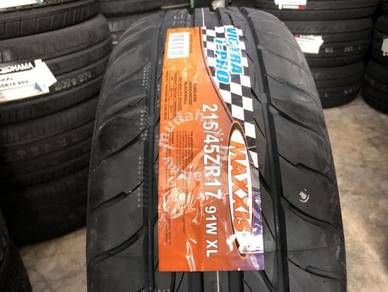 Tayar baru 215 45 17 maxxis vitra 2020 New Tyre