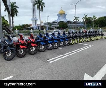 New yamaha lc135 ready stock 2020