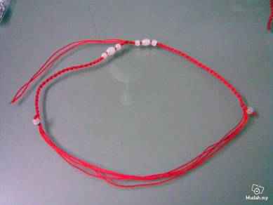 ABPP-B001 White Plastic Bead Pendant Necklace