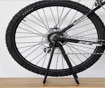 Bicycle Bike Repair Stand Triangle Rack Display