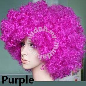 Cospaly Multicolor Explosive Wig - UM001 PURPLE