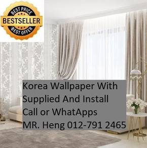 Design Decor Wall paper with Install 561KX