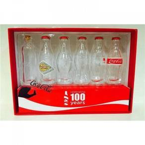 Coca Cola 100 Anniversary Mini Glass Bottle
