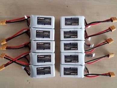 XPower 14.8V 1500mAh 65C RC 4S Li-Po Battery