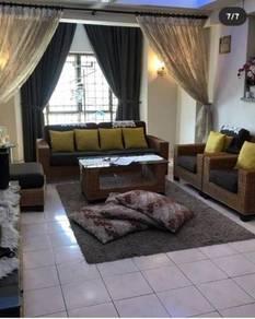 For sale : renovated avant court condominium taman seri sentosa