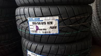 Toyo Proxes R1R 195-50-15 HONDA CIVIC EG