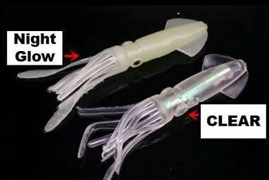 JPM Large Night Glow Squid(10.5cm)
