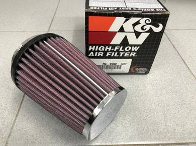 K&N RC-2600 Universal Clamp-On Air Filter - 2.875
