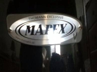 Mapex limited edition drum