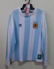 Rare jersey tee longsleeve ARGENTINA 1978 TRIBUTE