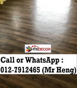 PVC Vinyl Floor In Excellent Install IK96
