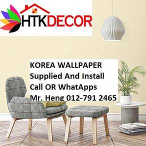 3D Korea Wall Paper with Installation 35JK