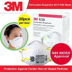 BORONG 3M™ Particulate Respirator 8210 N95 Mask
