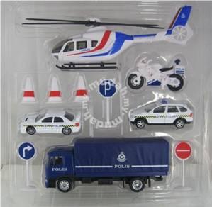 Kenderaan Police Diraja Malaysia road block kit