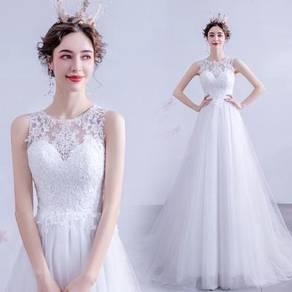 White wedding bridal dress gown RB2112