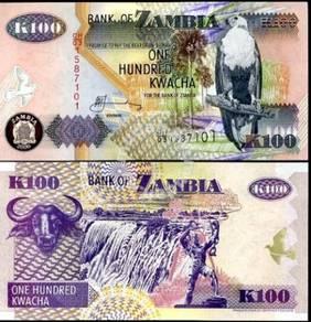 Zambia 100 kwacha p 38 unc