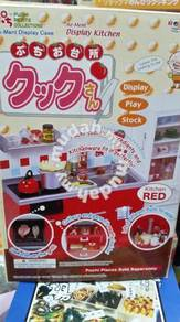 Re-ment red kitchen