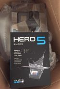 New GO PRO HERO 5 BLACK
