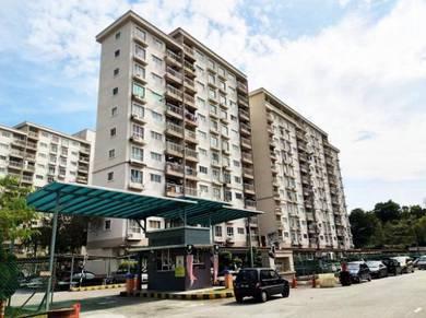 [Below Market] Cahaya Permai Apartment, Seri Kembangan Near MRT