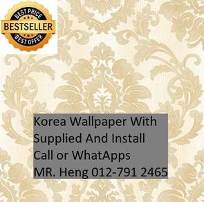 Wall paper with Installation for your HOME 125OU