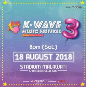[BUY 1 FREE 1] K-Wave Music Festival 3