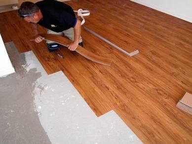 Vinyl Floor Lantai Timber Laminate PVC Floor M240