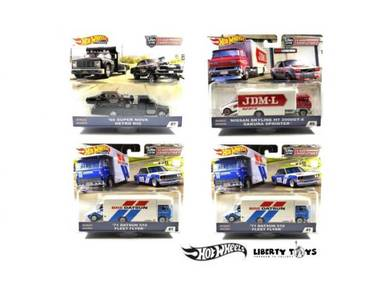 Hotwheels Car Culture Team Transport Case C Set 4