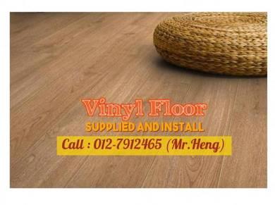 Modern Design PVC Vinyl Floor - With Install NO55