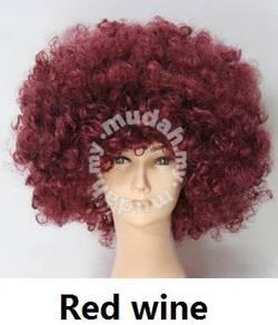 Cospaly Multicolor Explosive Wig - UM001 RED WINE