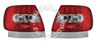 Audi a4 95 to 00 b5 led tail lamp black