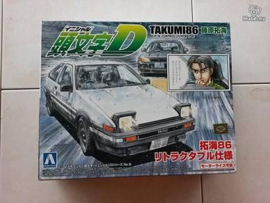 1-32 Fujiwara Takumi AE86 TRUENO car kit