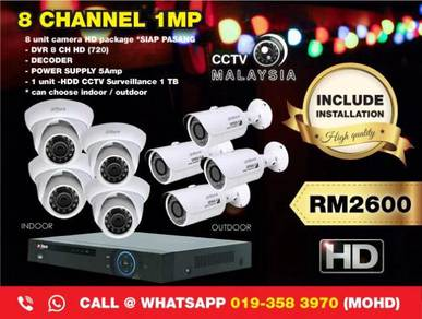 Cctv malaysia 8channel 1mp-146