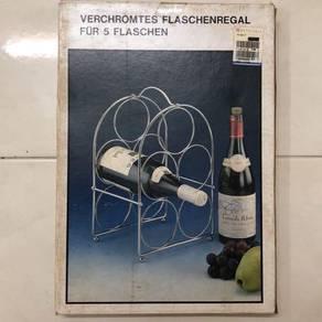 Wine Bottle Holder, for 5 Bottles