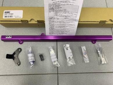HKS Alumite Purple Fuel Rail Toyota Supra 2JZ-GTE