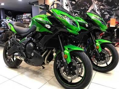 Kawasaki Versys 650 New Colour ~ KHM Kian Huat