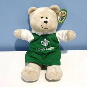 Starbucks Hong Kong Green Apron Bearista Plush