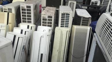 Pelbagai Jenama Aircond wall type supply