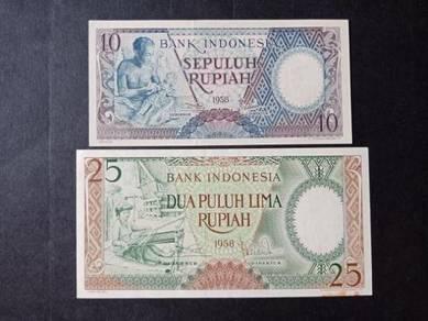 Wang INDONESIA Rupiah 1958 Z309